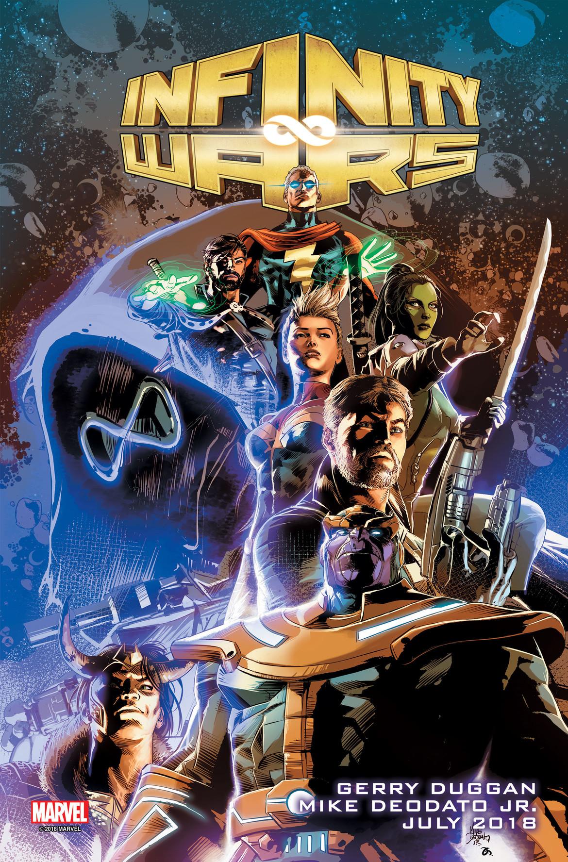 infinity wars marvel comics cover