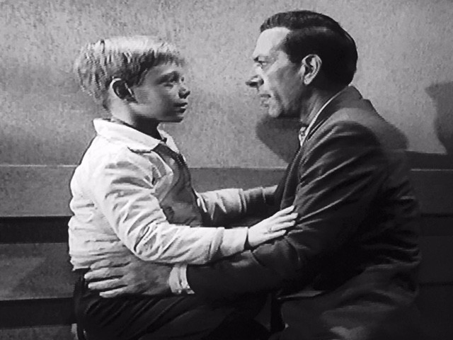 """Bill Mumy and Jack Klugman reunite as father and son in """"In Praise of Pip."""""""