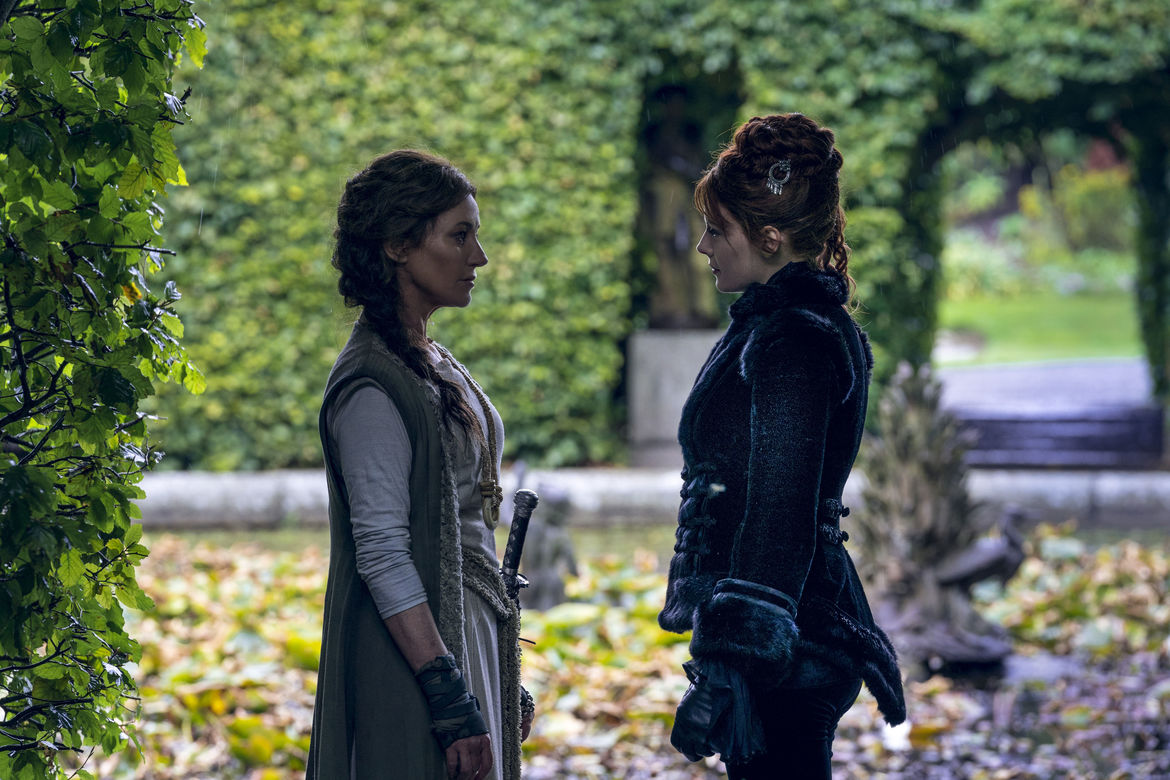 Into the Badlands 302, Lydia and the Widow