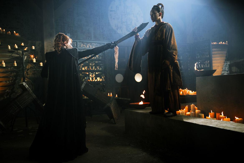 Into the Badlands 309, Widow Master