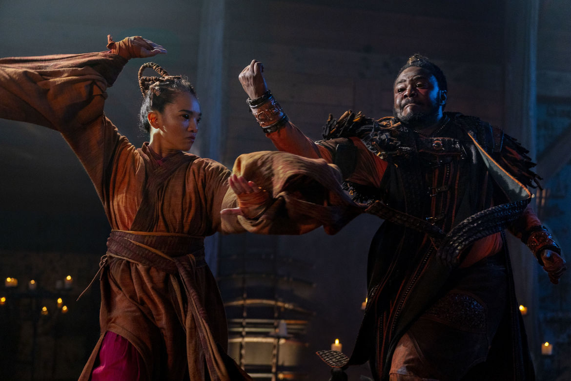 Into the Badlands 312, Pilgrim and the Master