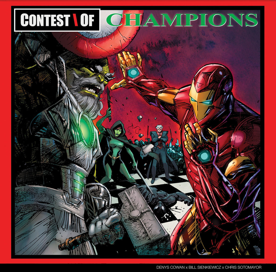 Iron Man Maestro GZA album cover Marvel