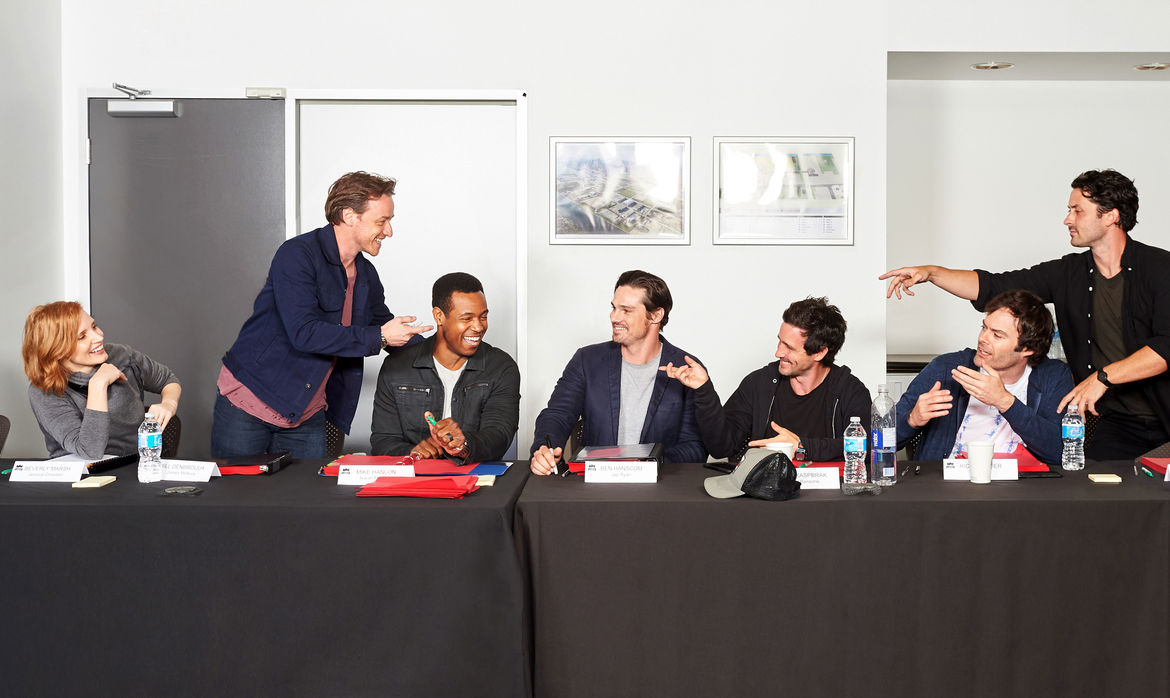 It Chapter Two Losers Club Table Read