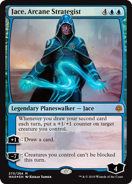 Jace Magic the Gathering War of the Spark
