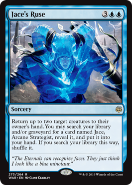 Jace's Ruse Magic the Gathering War of the Spark