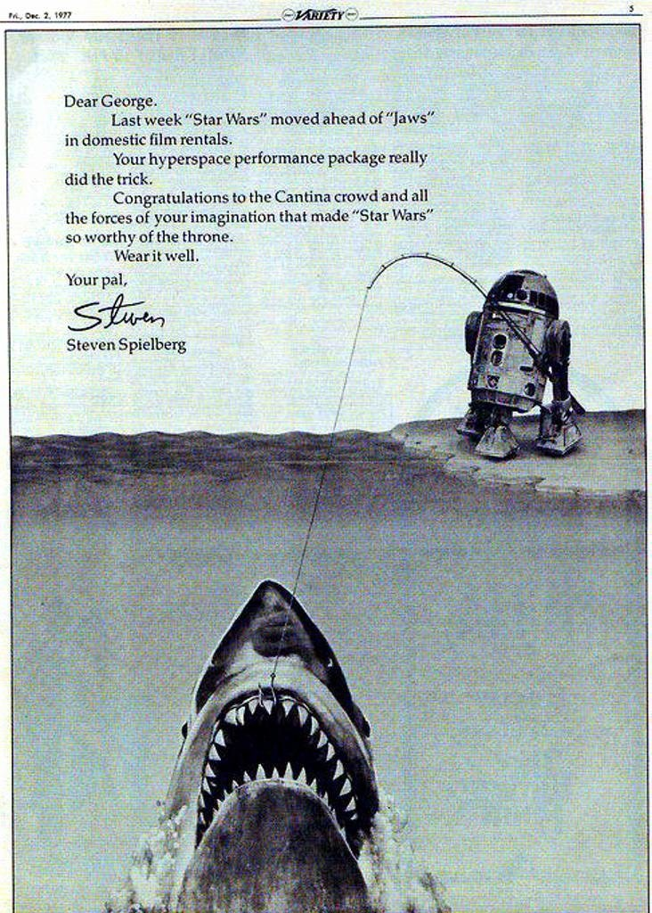 Jaws Star Wars Box Office