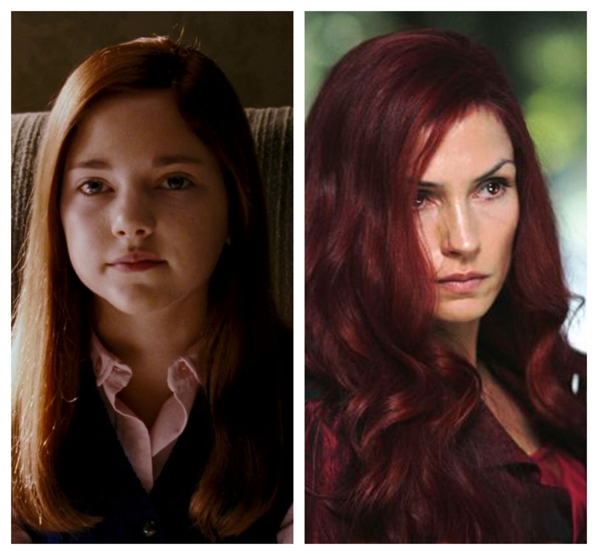 Young and Old Jean Grey, X-Men The Last Stand