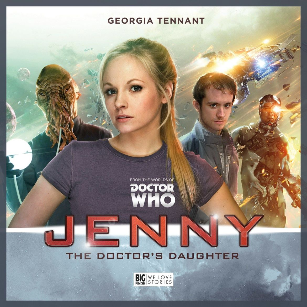 Jenny The Doctors Daughter Big Finish