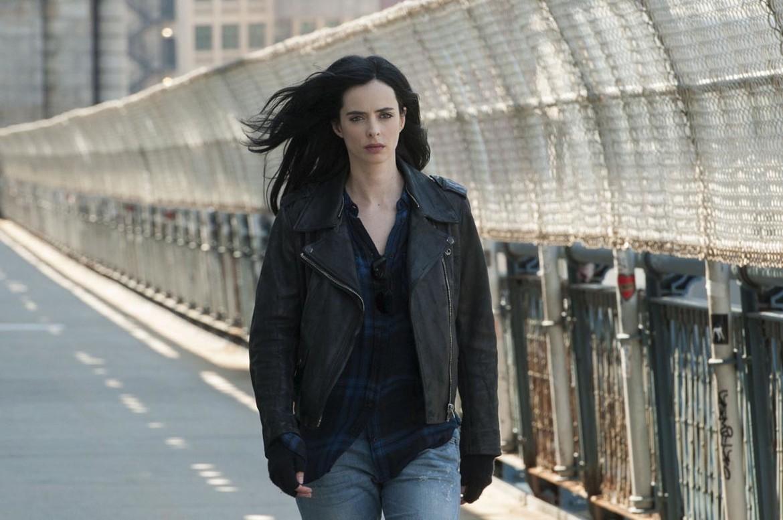 Jessica Jones NYC bridge