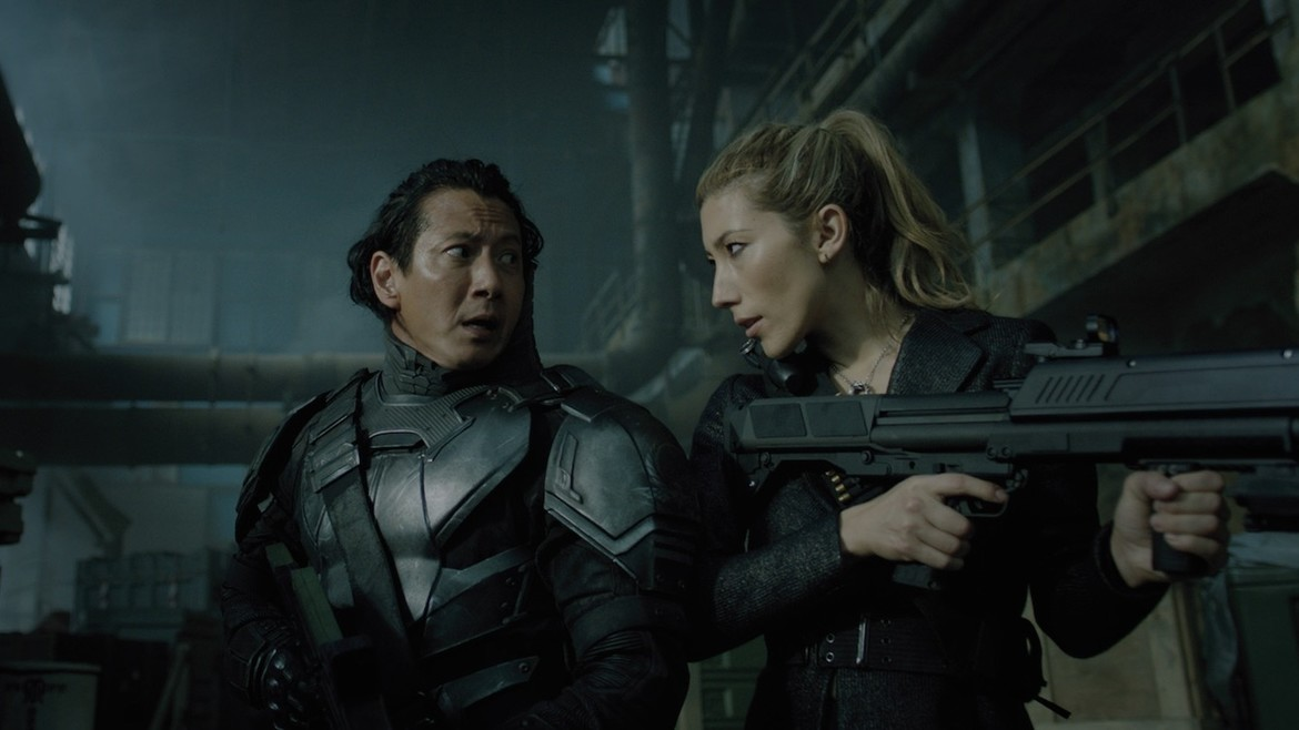 Altered Carbon, Reileen and Takeshi