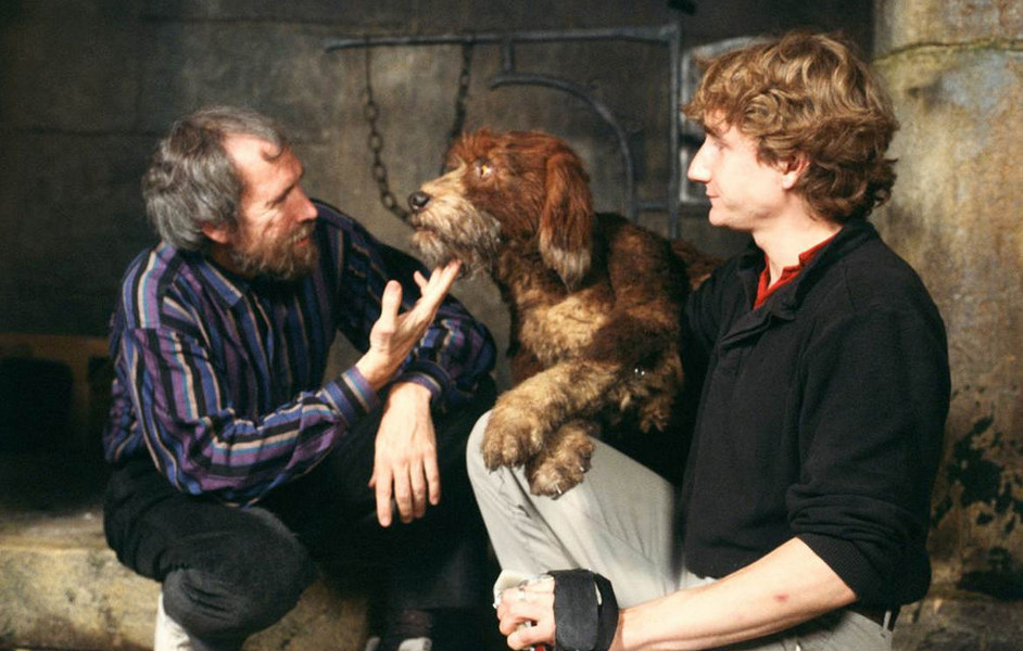 Jim Henson and Brian Henson
