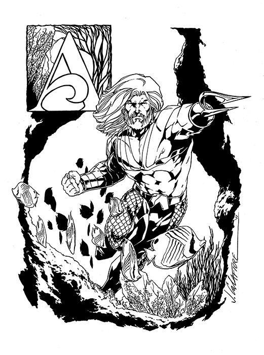 Aquaman Jim Califi