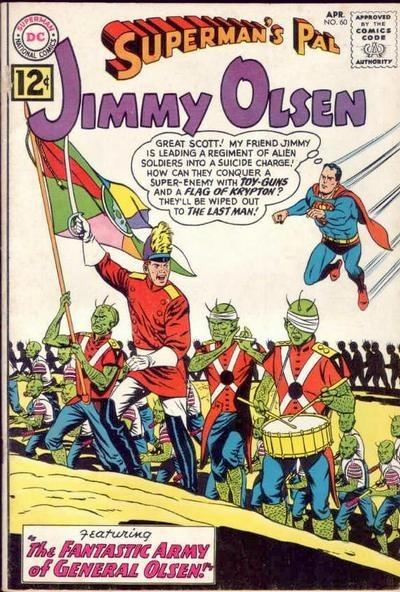 Jimmy Olsen 60 Cover