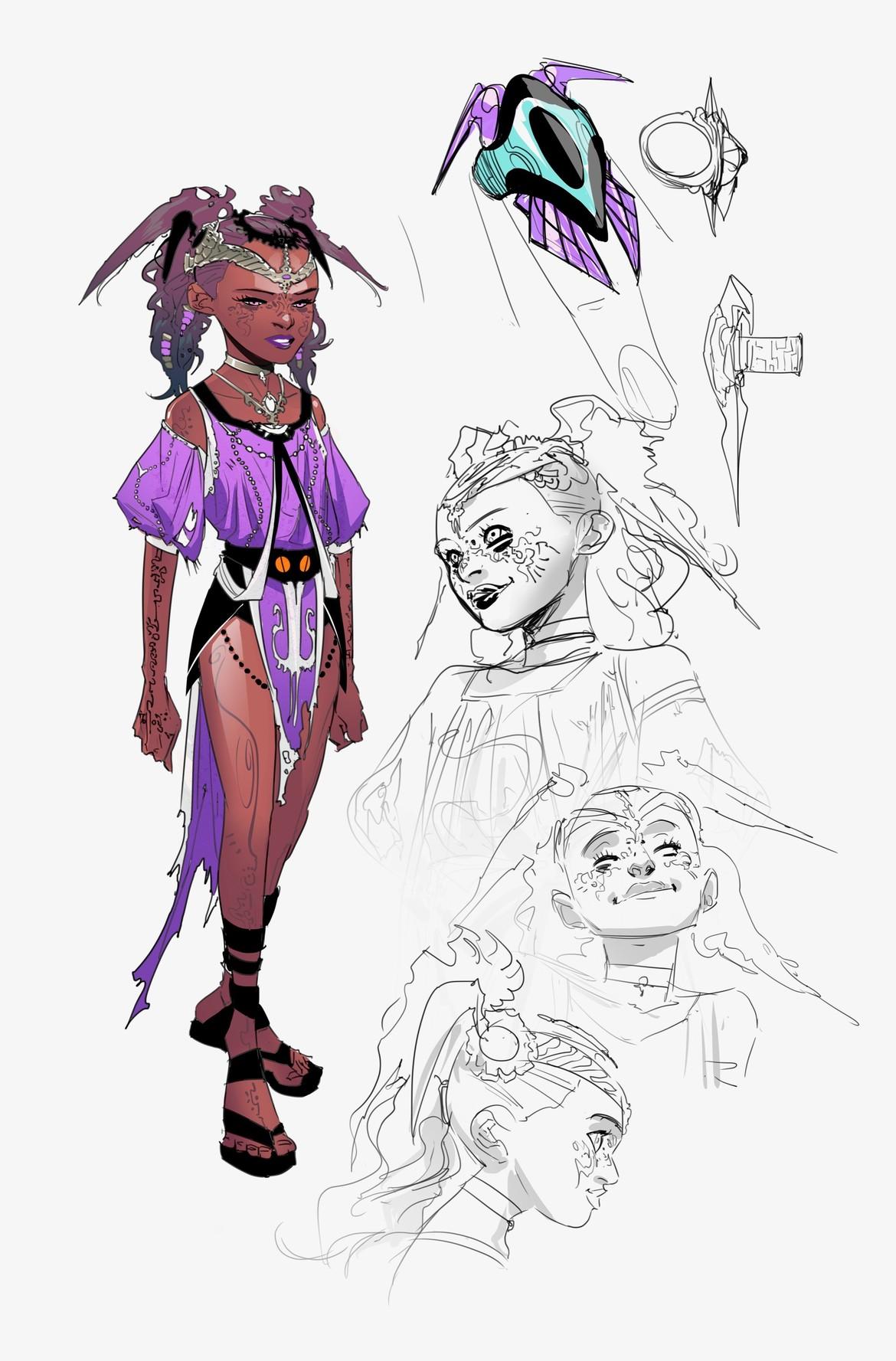 Teen Titans - Jinn Concept Art