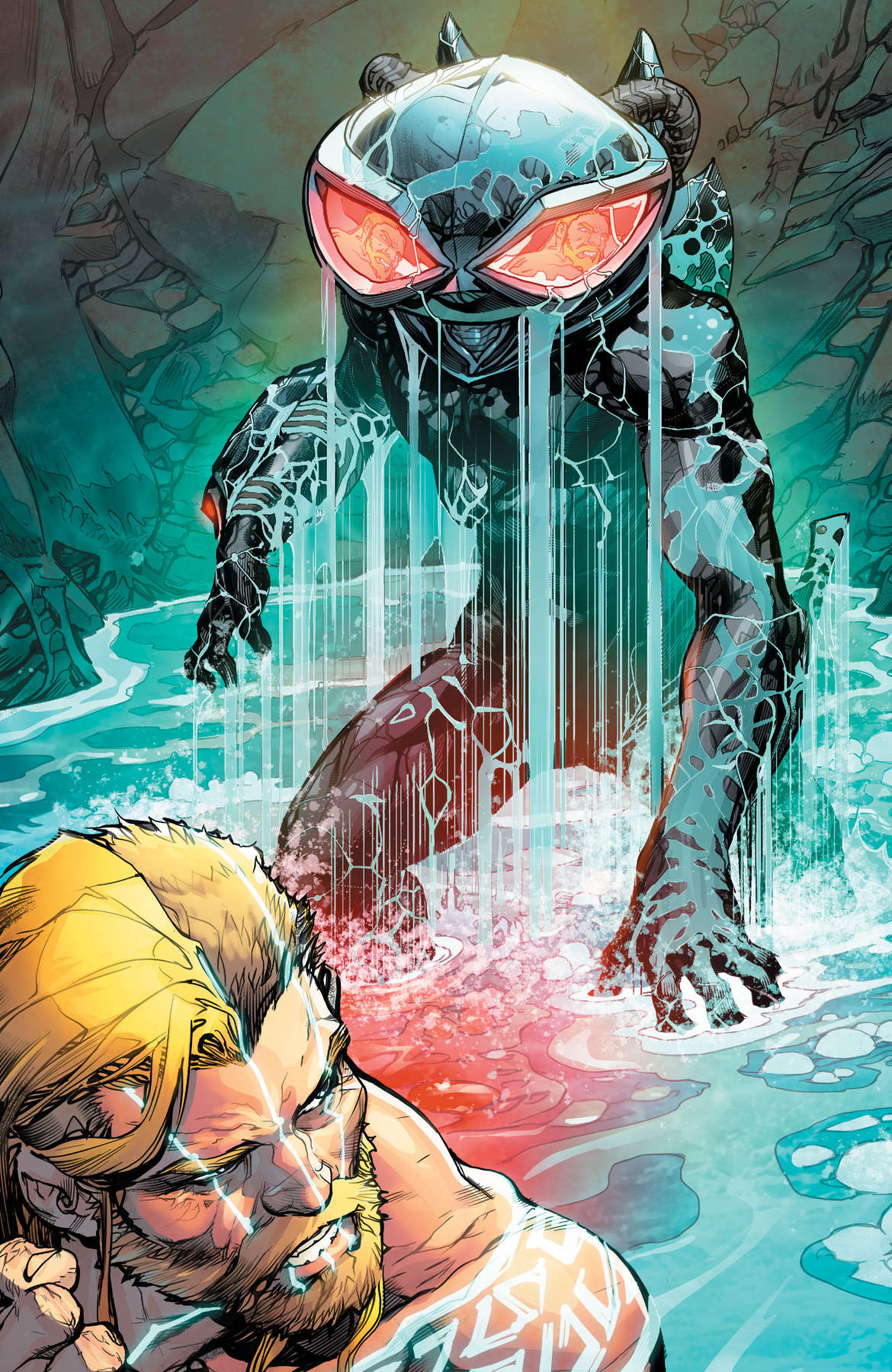 Justice League Aquaman Drowned Earth #1 Page 17