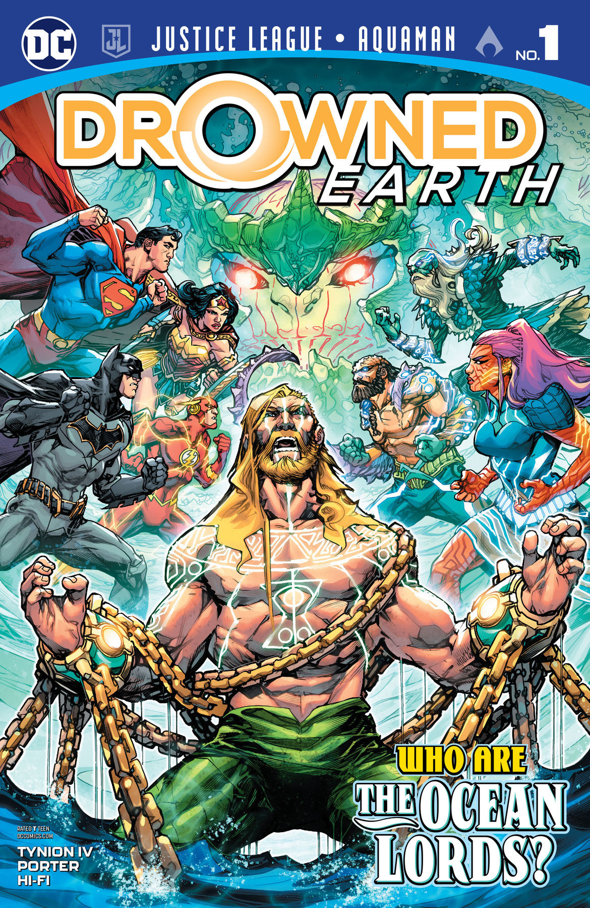 Justice League Aquaman Drowned Earth #1