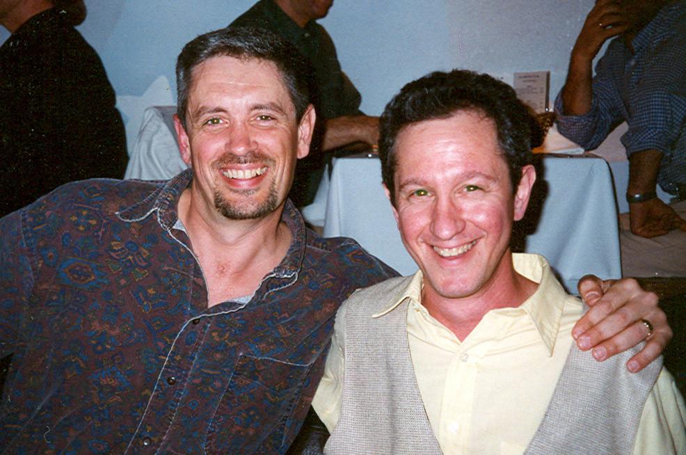 Jon McClenahan and Ron Fleischer of StarToons