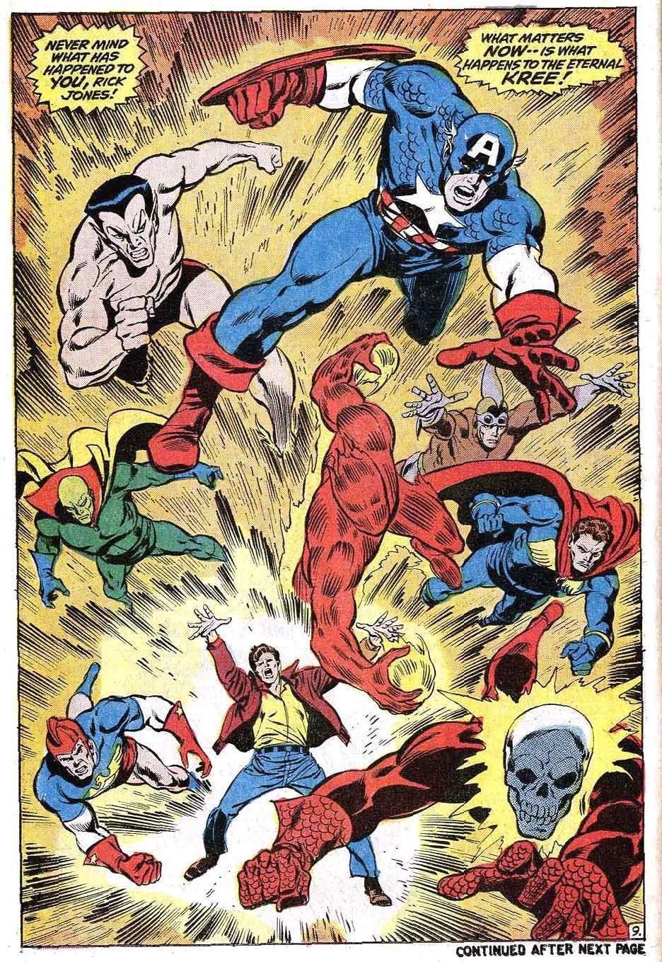 Avengers #97 (Written by Roy Thomas, Art by John Buscema)
