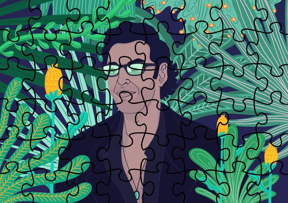 Jurassic Jeff (jigsaw) by George Morton