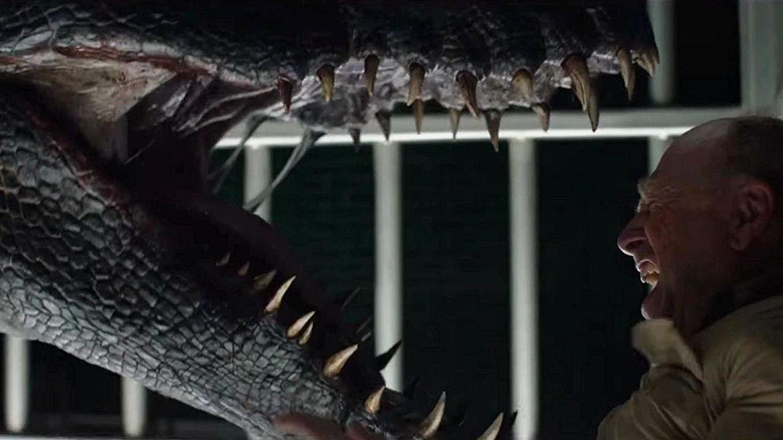 Jurassic World Fallen Kingdom Ted Levine vs Indoraptor