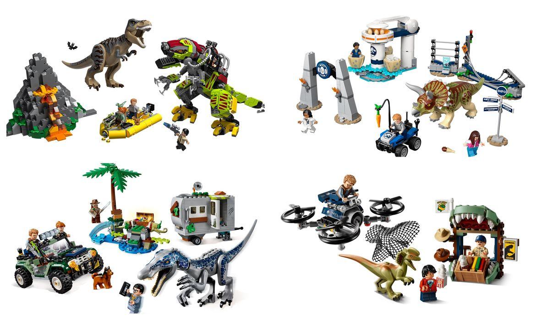 Development: LEGO announces Jurassic World miniseries