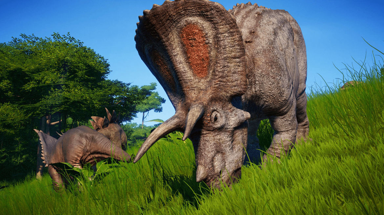 Jurassic World Evolution - Triceratops