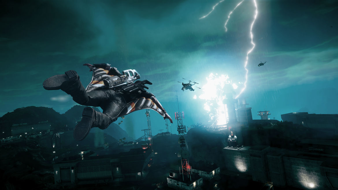 just cause 4 lightning storm