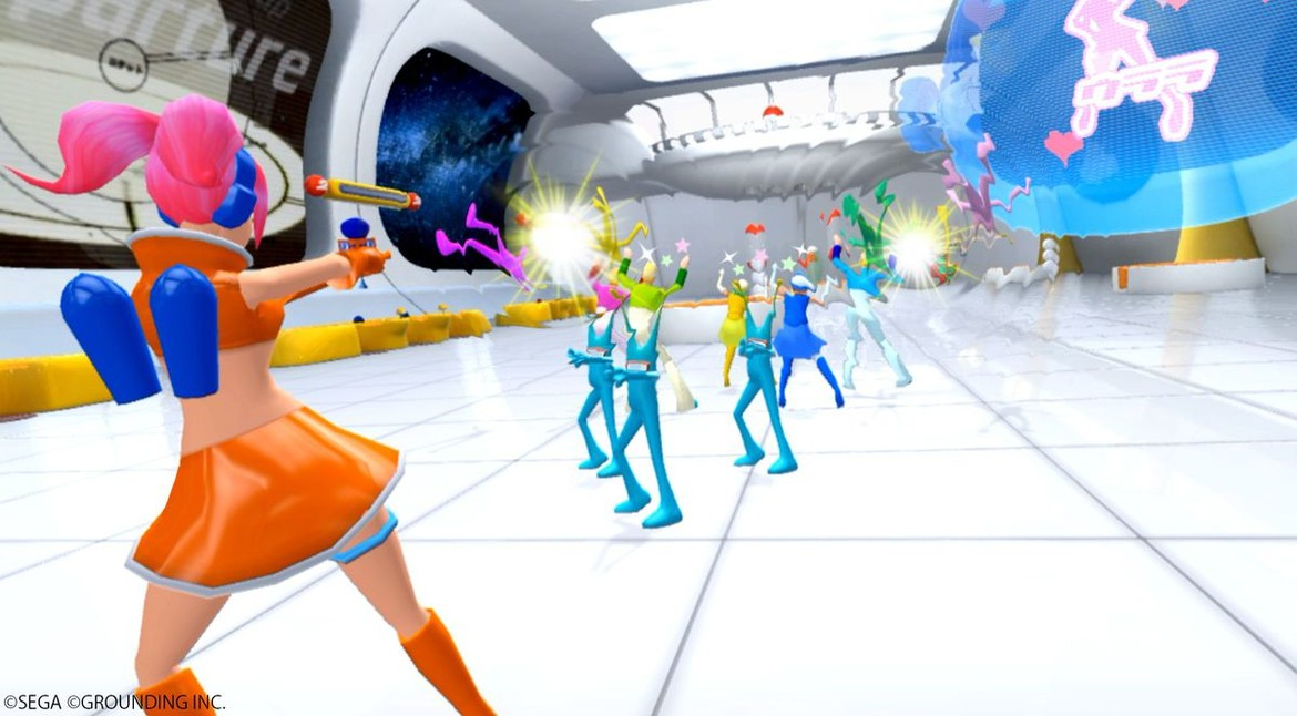 Space Channel 5 VR - Arakata Dancing Show