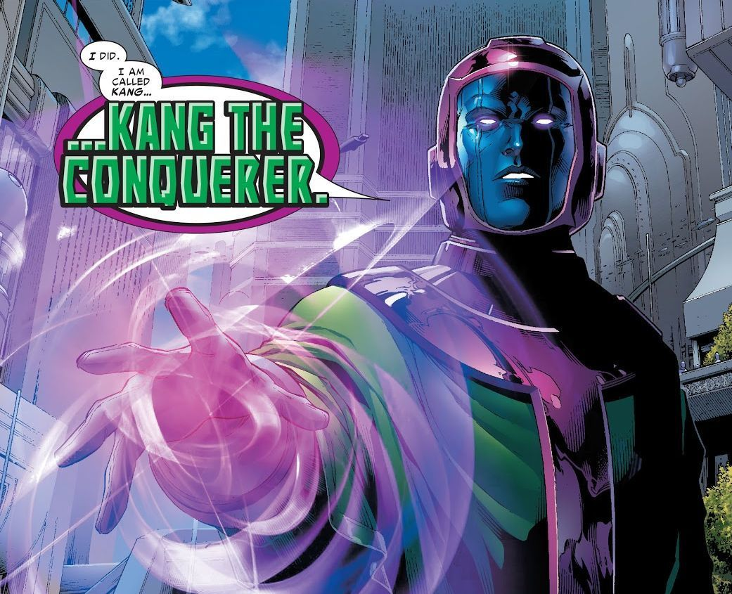 Kang the Conqueror from Young Avengers #2 (Writer Allan Heinberg, Artitst Jim Cheung)
