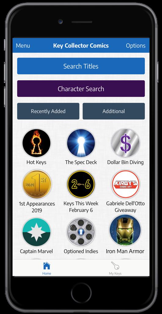Key Collector App