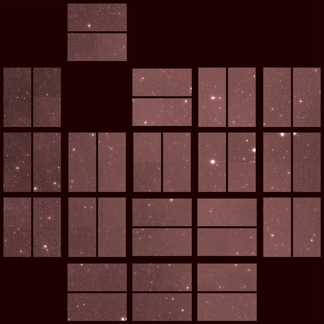 last Kepler image of the galaxy
