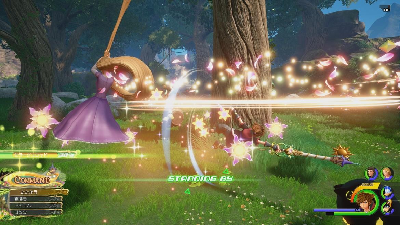 Kingdom Hearts III - Rapunzel