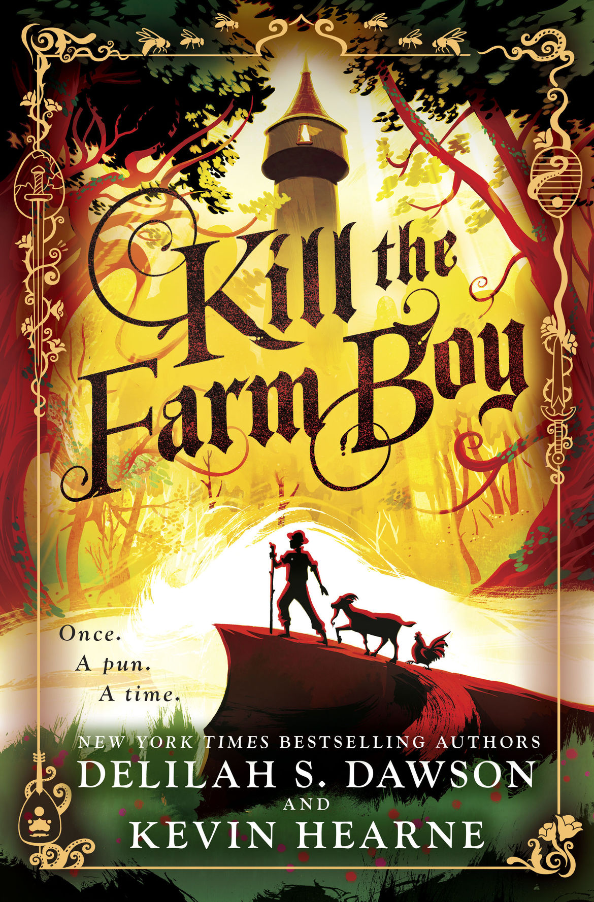 Kill the Farm Boy - cover