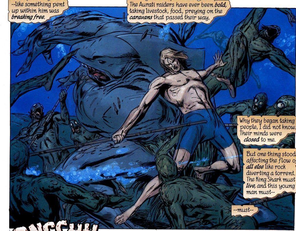 Aquaman: Sword of Atlantis #1 Written by Kurt Busiek, art by Ian Churchill, Carlos Pacheco, Butch Guice