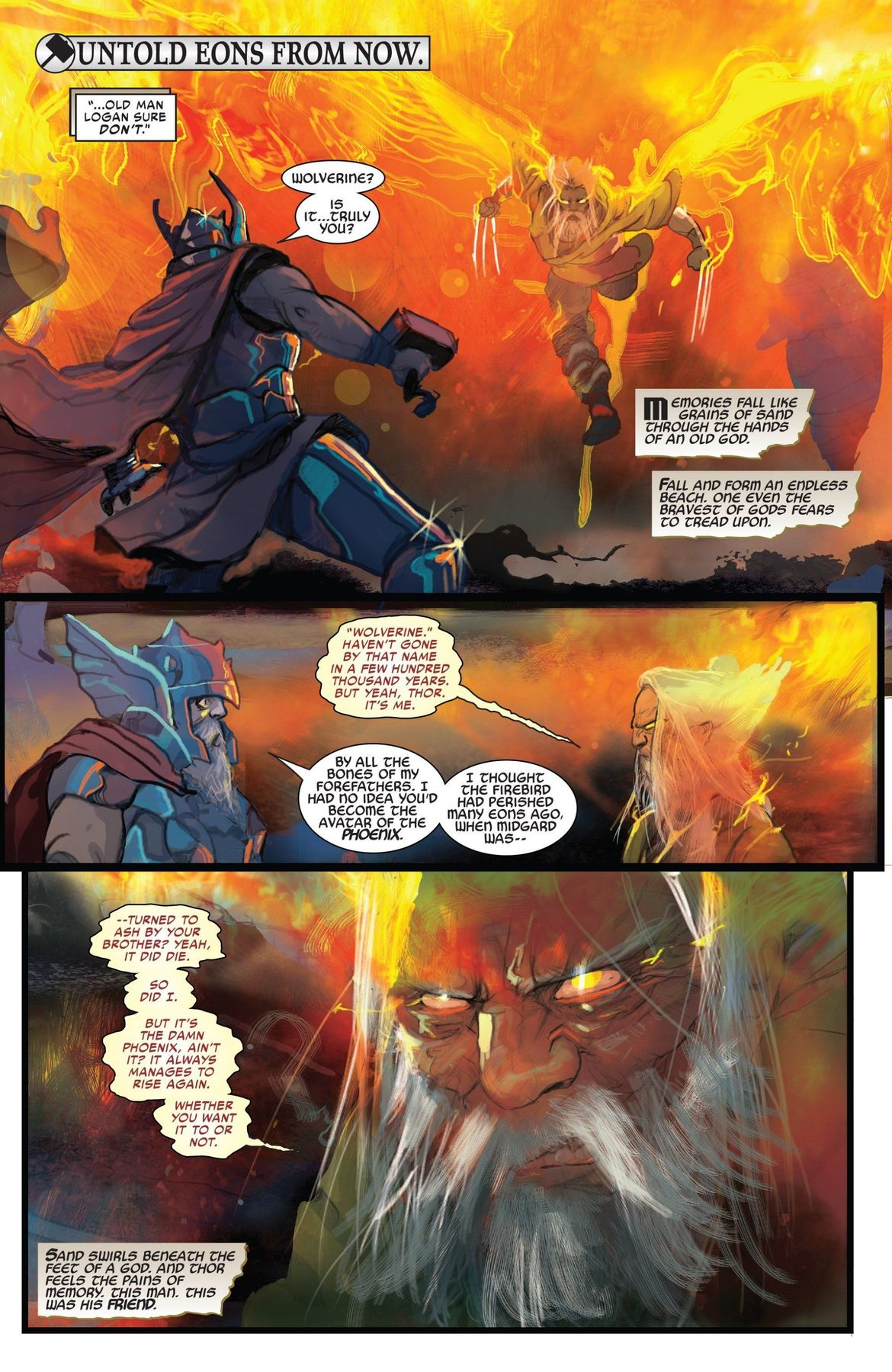 King Thor v Old Man Phoenix