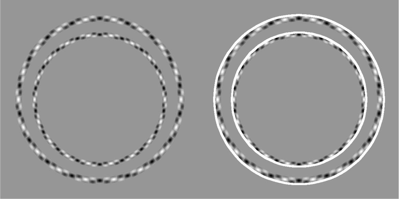 See? Concentric circles.