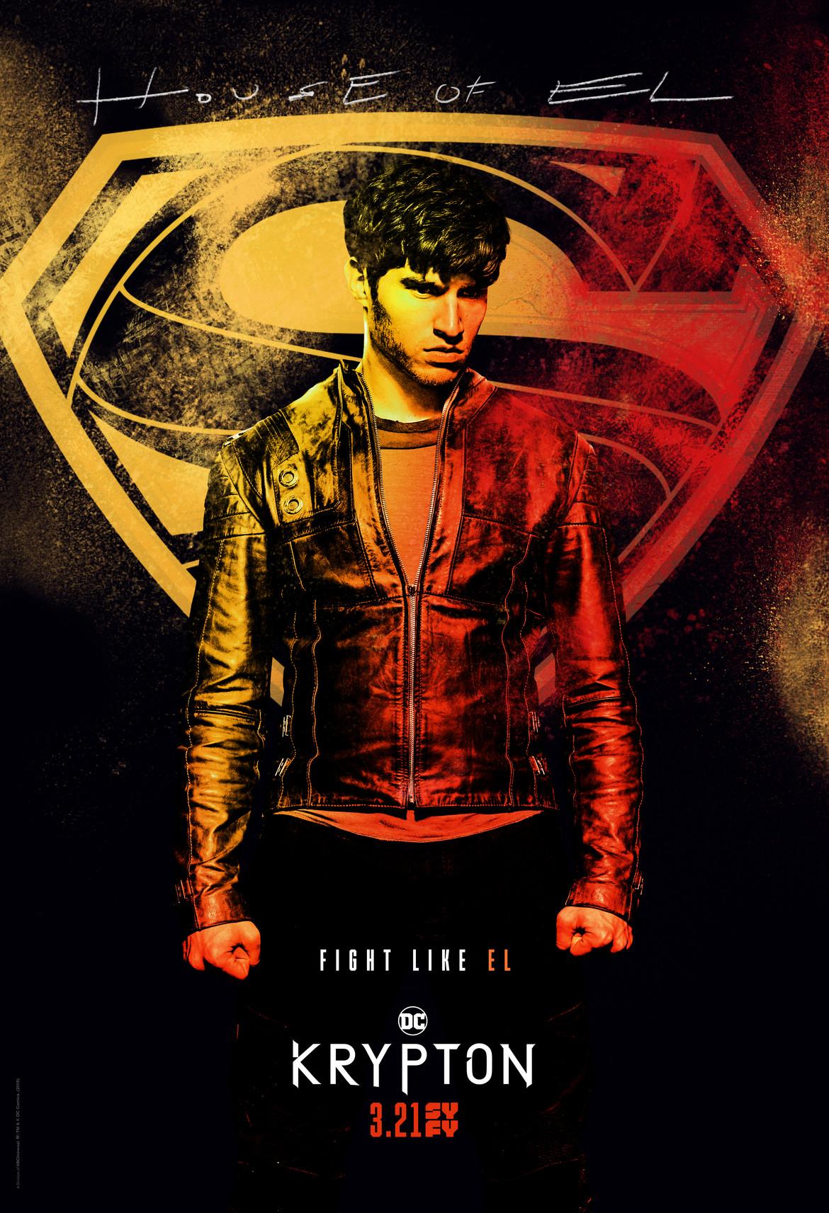 Krypton- Seyg-El spraypaint poster