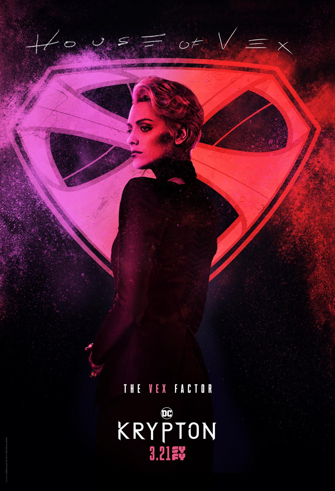 Krypton- Vex spraypaint poster