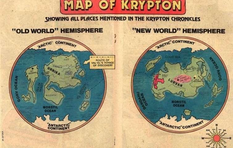 A traveler\'s guide to the cities of Krypton