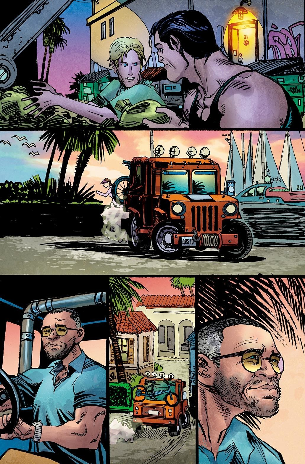 Killing Time In American graphic novel page