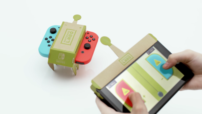 Nintendo Labo: RC Car