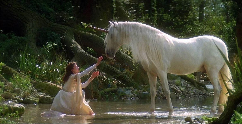 Princess Lili and the unicorn in Legend