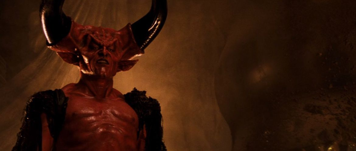 Tim Curry as Darkness in Legend