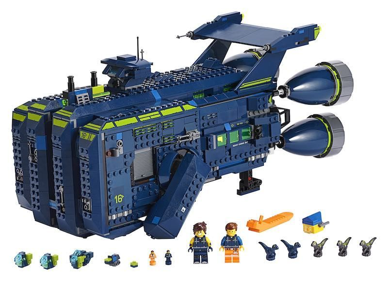 Important Toy News Lego Movie 2 S Coolest New Ship Is A Huge Toy Now Obviously Syfy Wire