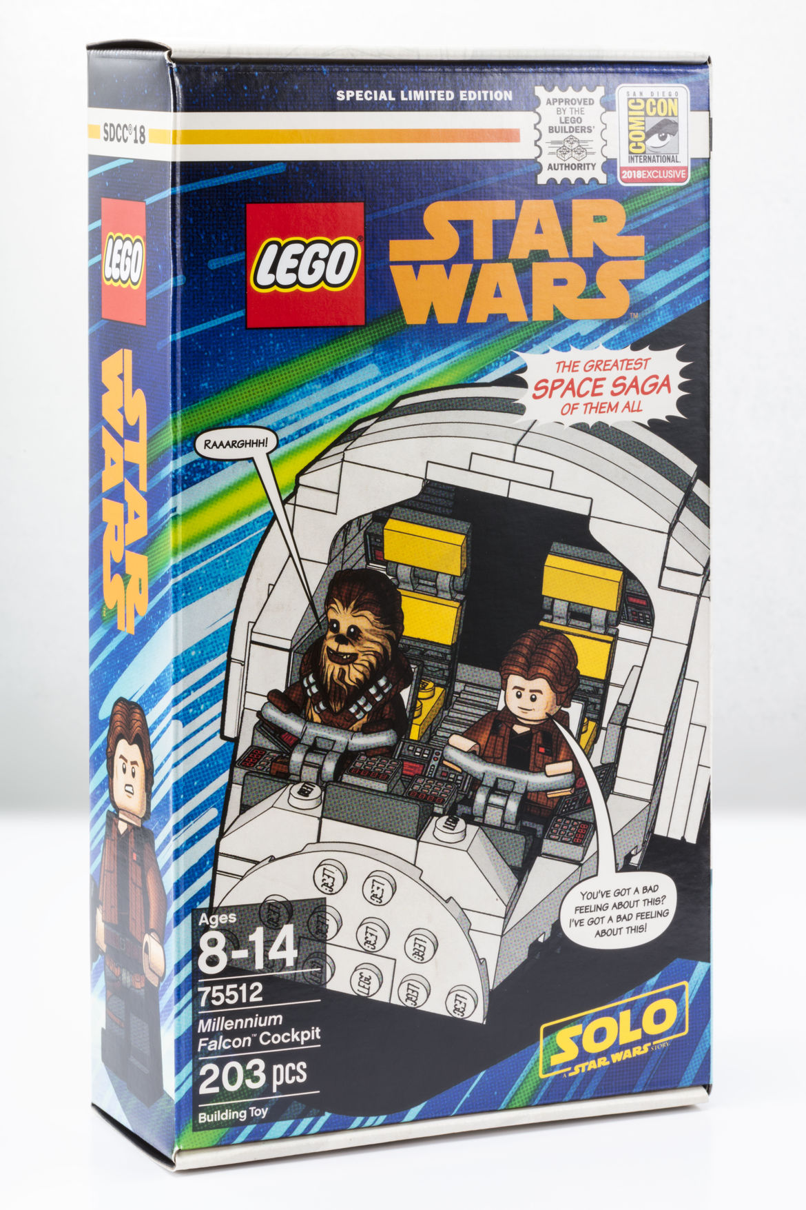 LEGO's SDCC Exclusive Millennium Falcon cockpit from Solo: A Star