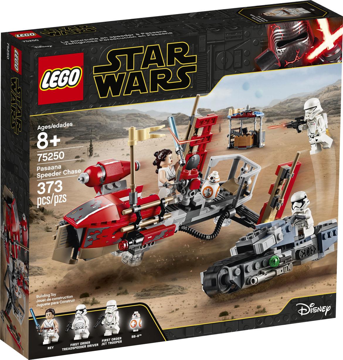 Triple Force Friday Lego Set Reveals Star Wars Rise Of Skywalker Treadspeeder