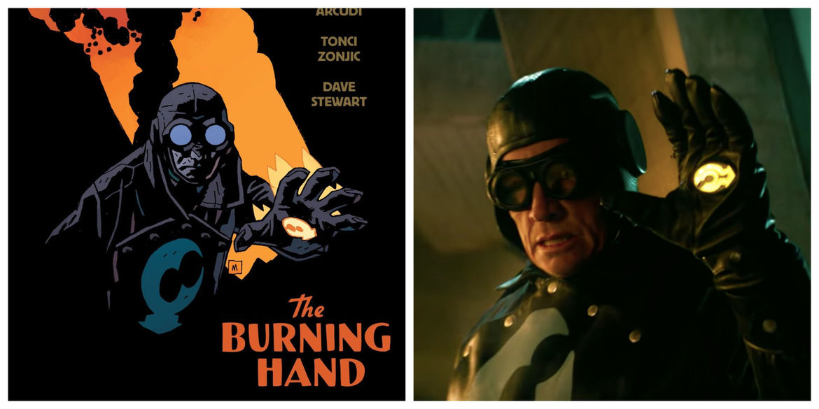 Lobster Johnson in the Hellboy universe