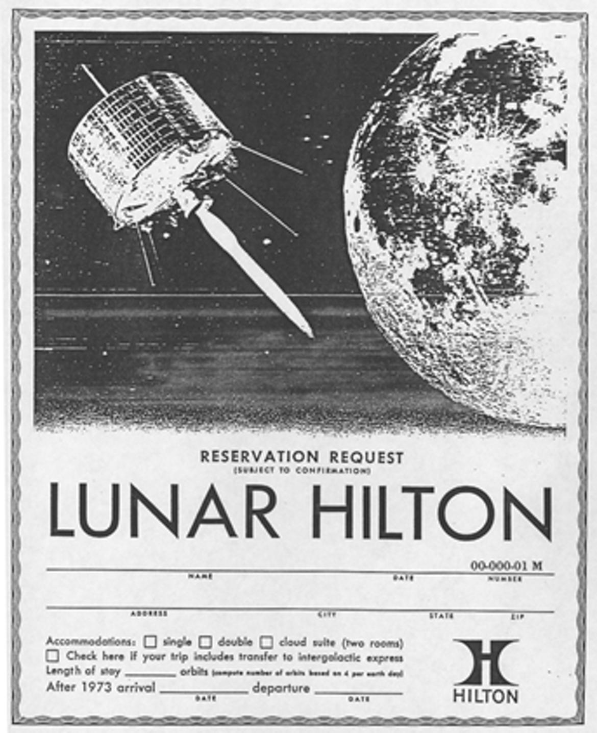 Moon Lunar Hilton