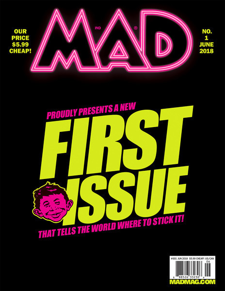 mad magazine new first issue
