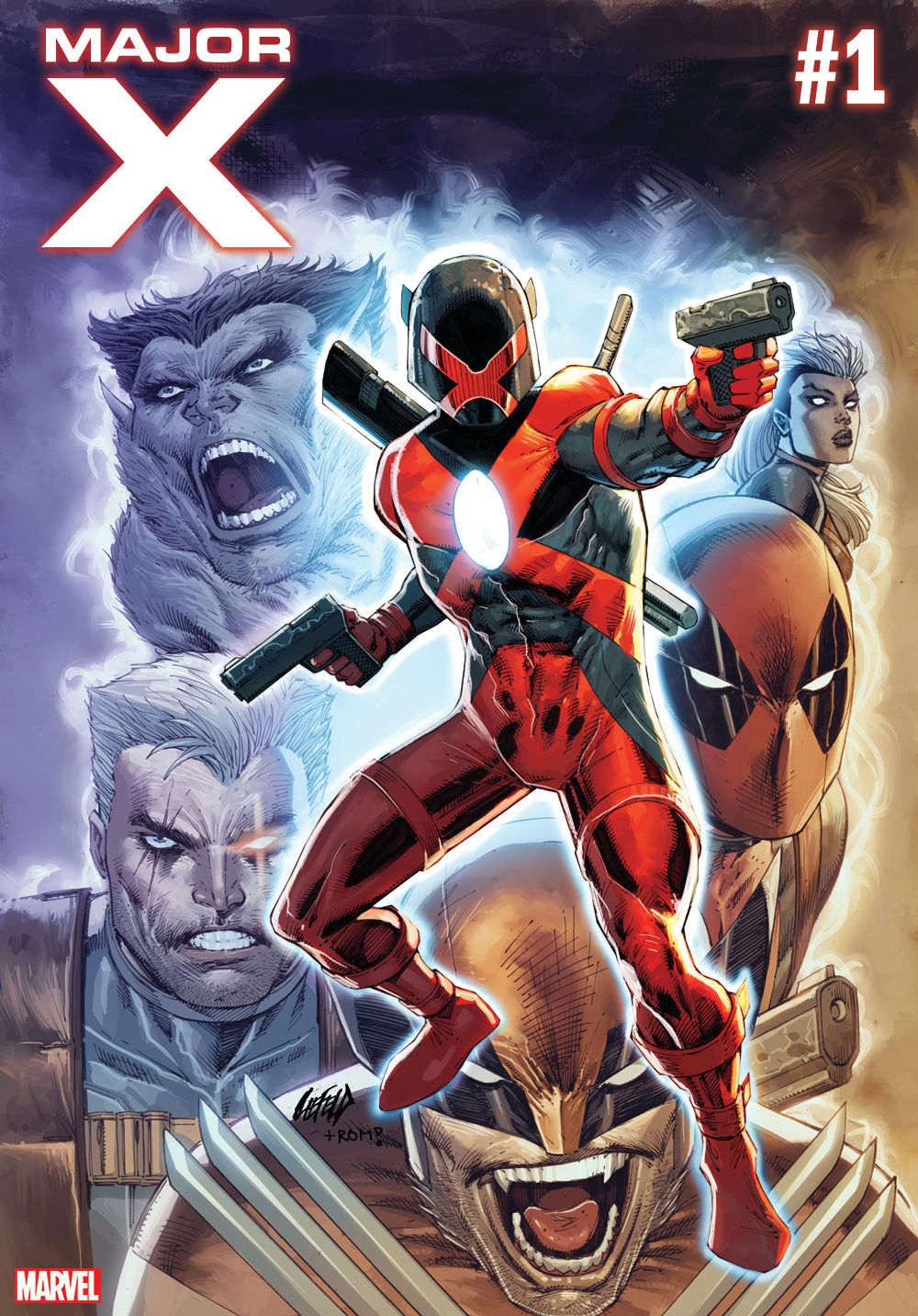 Marvel Comics' Major X by Rob Liefeld